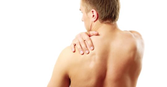 El hombro y su relación con el estómago.